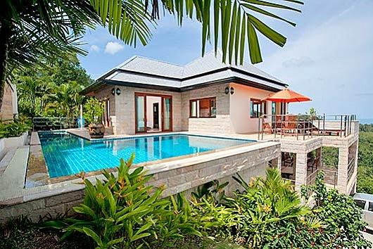 Samui Jungle View Villa - Image 1 - Lamai Beach - rentals
