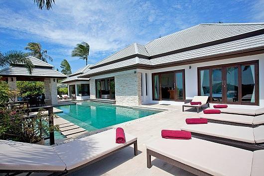 Bophut Sea-View Villa - Image 1 - Mae Nam - rentals