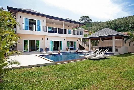 Sublime 6 bed pool villa near beach - Image 1 - Kata - rentals