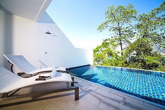 Scenic Patong villa with sea views - Image 1 - Kathu - rentals
