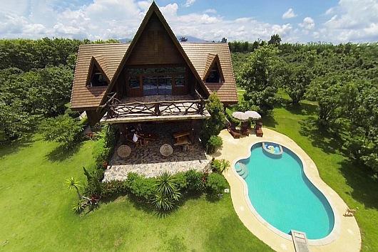 Countryside 6 bed retreat at Chiang Dao - Image 1 - Chiang Dao - rentals