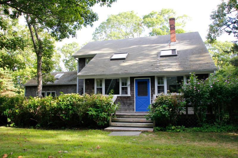 Exterior of House - GIBBT - Large Deck, Wifi, A/C, Conveniently Located in One of The Most - Chilmark - rentals