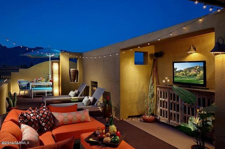 Rooftop Sky Deck - HEART OF TUCSON FOOTHILLS (MINIMUM 30 DAY STAY) - Tucson - rentals