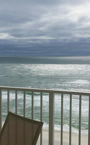 Have a glass of wine and the sound of the Gulf! - 3 Bedroom with Breathtaking Ocean Views at Long Beach Resort - Panama City Beach - rentals