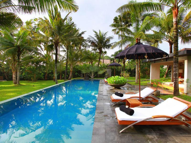 Pool view - Valentine 5BR Luxury Villa by The Ocean Canggu - Canggu - rentals