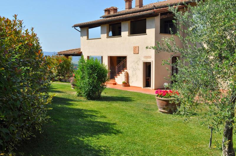 8 bedroom Villa in Montaione, San Gimignano, Volterra and surroundings - Image 1 - Villamagna - rentals