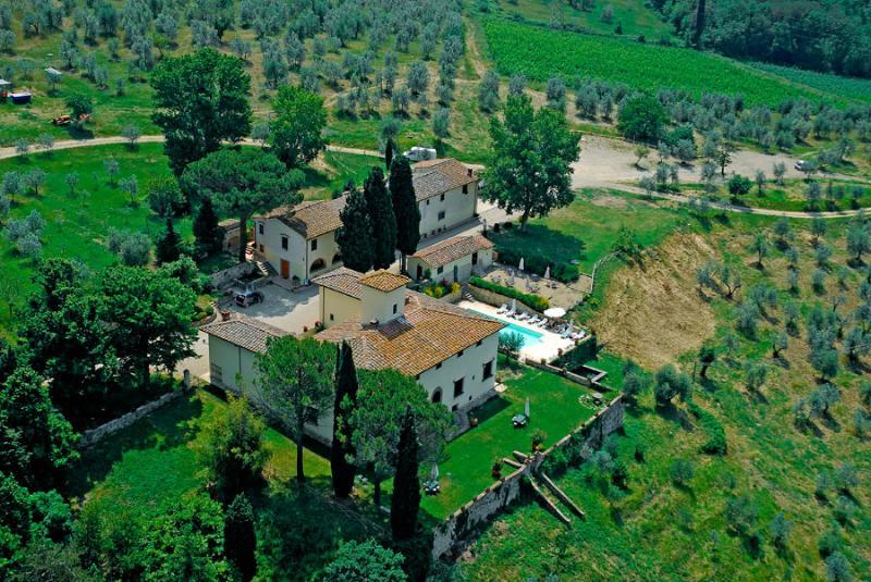 Villa Belvedere - Camera Doppia Superior - Image 1 - Montefiridolfi - rentals
