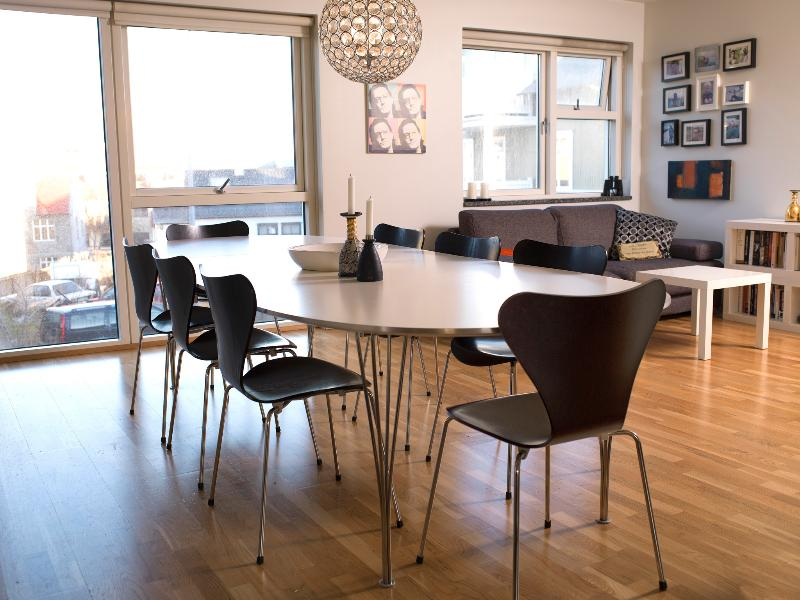 Dining room - Amazing Central Apartment - Reykjavik - rentals