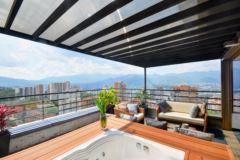 Luxury Penthouse with Jacuzzi - Image 1 - Medellin - rentals