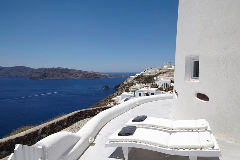 Terrace View - Blue Villas | Oia Windmill| Stylish villa in Oia - Oia - rentals