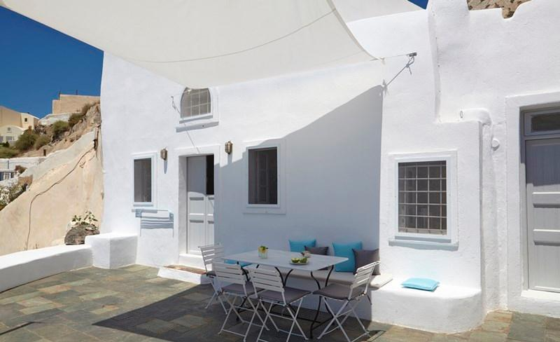 Exterior - Blue Villas | Oia Cave|Private , with sunset view - Oia - rentals
