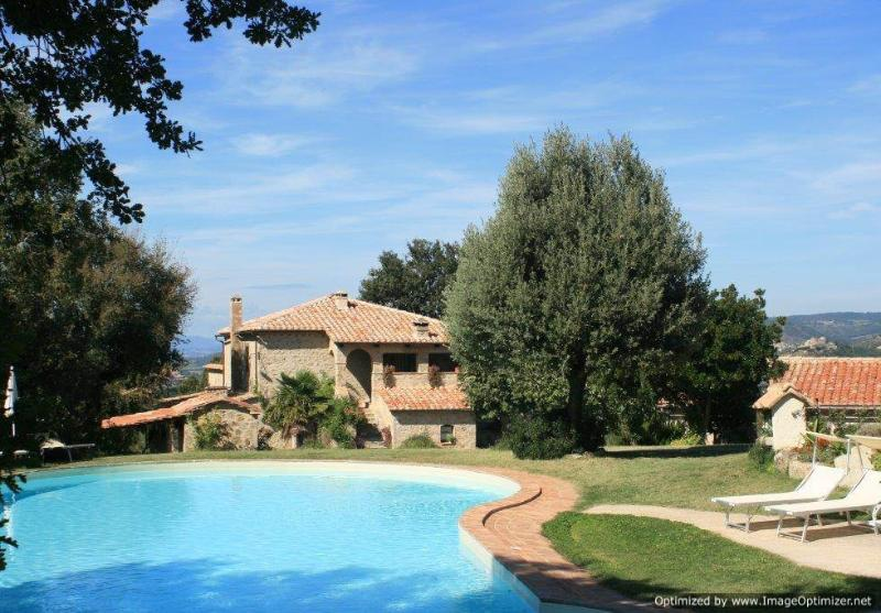 Bellevue - Montan Seggiano villa rental, holiday villa to let in Tuscany, self catered rental Tuscany, villa with pool Tuscany - Image 1 - Seggiano - rentals