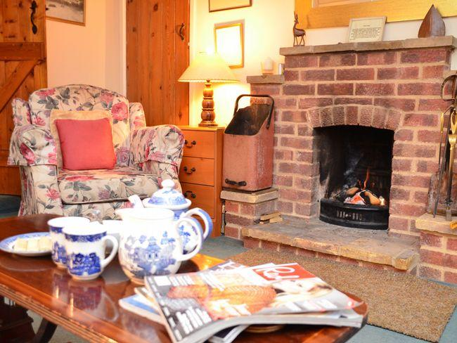 Cosy lounge with open fire - NO1N8 - Thornham - rentals