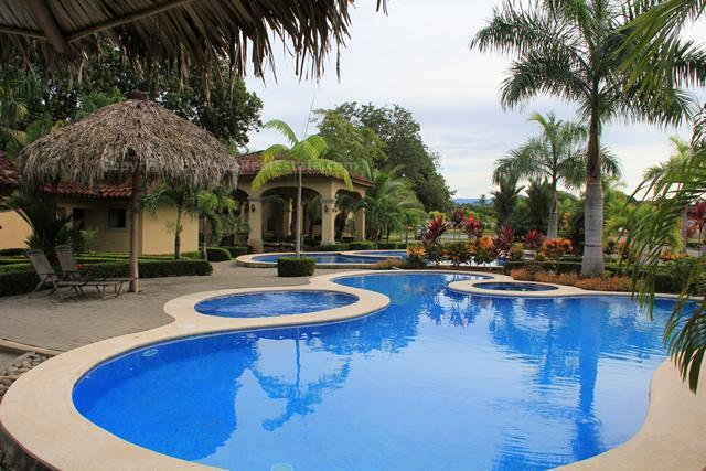 Casa Sol is located in a beautiful gated community with two large pools. - EcoVida Casa Sol - Solar Powered at Playa Bejuco - Playa Bejuco - rentals