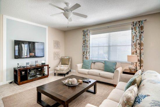 5 Bedroom 4 Bathroom Pool Home Near Disney In Gated Community. 910SP - Image 1 - Orlando - rentals