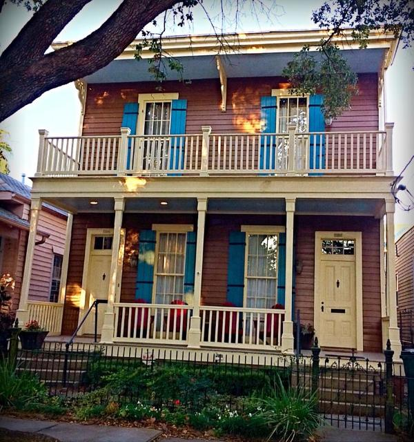Front View - 2 BR Vict. Condo - Uptown New Orleans - New Orleans - rentals