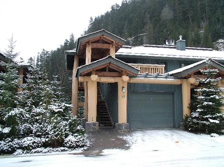 Exterior of the townhome - Luxury ski-in ski-out townhome on lower slopes of Whistler Mountain - Whistler - rentals
