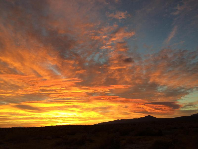 Magnificent sunrise in Anza! - Quiet Anza Borrego panoramic desert escape - Borrego Springs - rentals