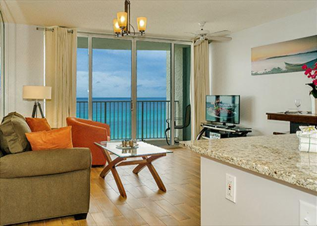 BRAND NEW LIVING ROOM FURNISHINGS - Cozy Beachfront Condo for 4 with New D�cor Open Week of 4/4 - Panama City Beach - rentals