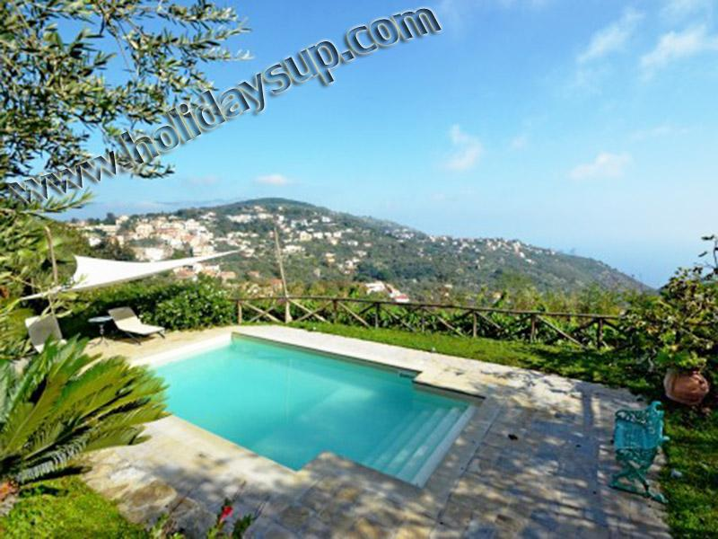 Villa Amolu with private nice swimming pool, solarium and sea view sorrento booking holiday rentals - Villa Amolu, quality with private pool, ocean view - Sorrento - rentals