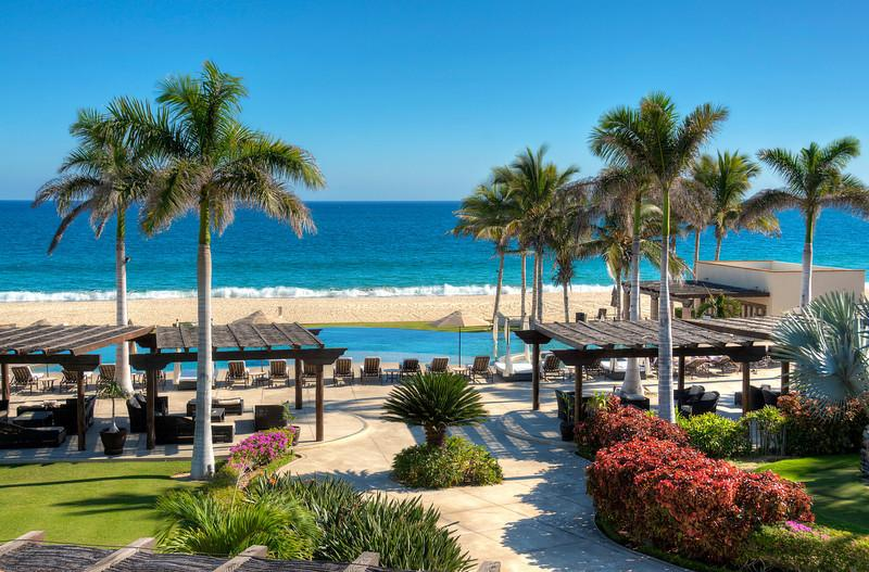 The private Campestre Beach Club, the use of this beautiful, exclusive facility is included - Golf Villa with Unlimited Golf on Three Courses - San Jose Del Cabo - rentals