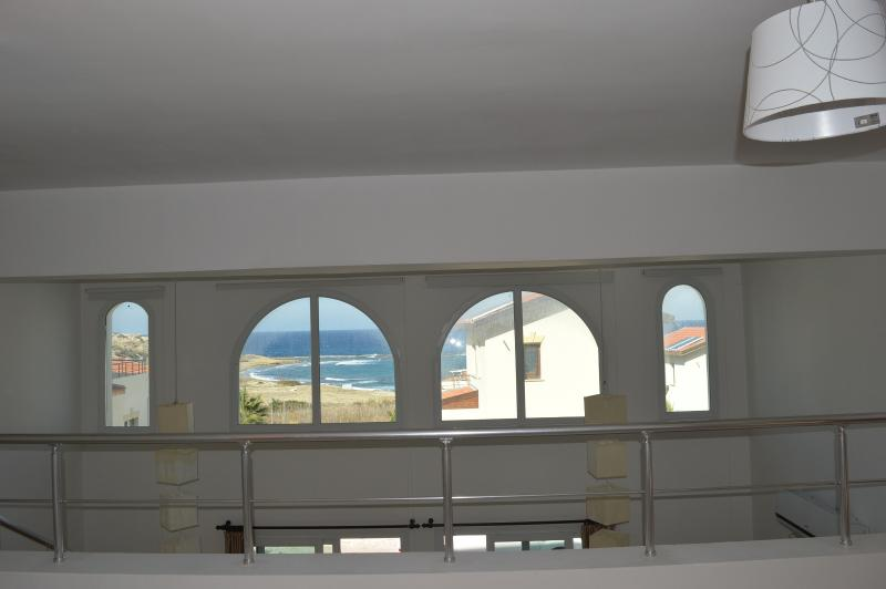 View from master bedroom - Beach front apartment Cyprus - Kyrenia - rentals