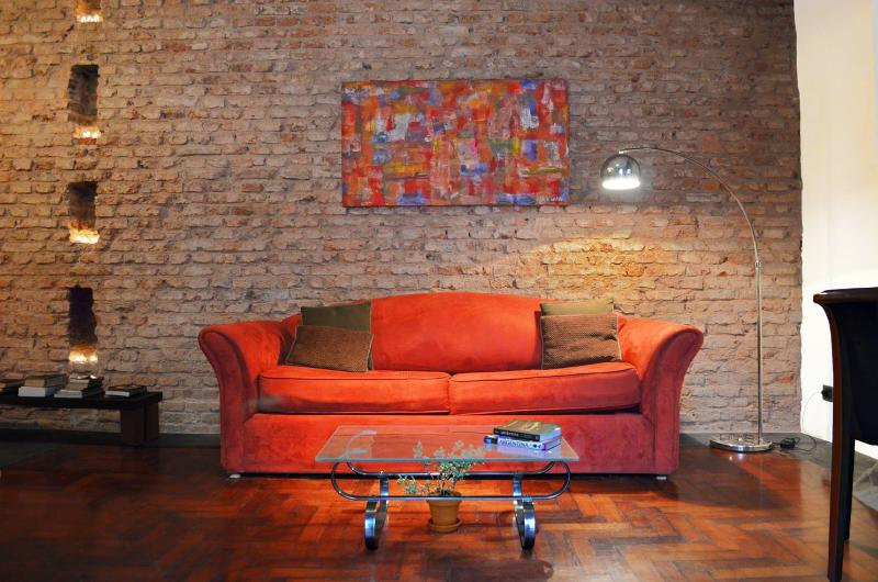 Exposed Brick One Bedroom Apartment in Palermo Soho - Image 1 - Buenos Aires - rentals