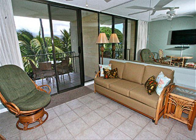 KR408 Partial Ocean View 1 bedroom with queen loft - Image 1 - Kihei - rentals
