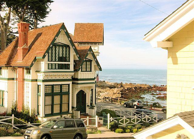 3119 Yellow House Guest ~ Almost Oceanfront, Ocean Views, Sounds of the Sea - Image 1 - Pacific Grove - rentals