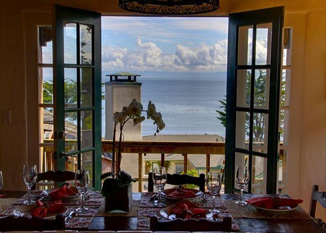 """Welcome to """"Villa-by-the-Sea""""! Luxurious and beautiful! This stunning home is almost oceanfront. Easy walk to Cannery Row and the Aquarium. - 3263 Villa by the Sea ~ Almost Oceanfront! Walk to Aquarium! Ocean View! - Pacific Grove - rentals"""