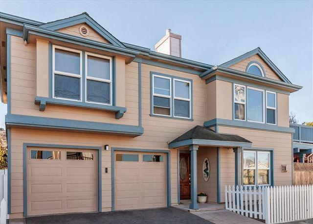 3616 Mermaid House ~ Ocean View! Walk to the Ocean, Rec Trail & The Aquarium! - Image 1 - Pacific Grove - rentals