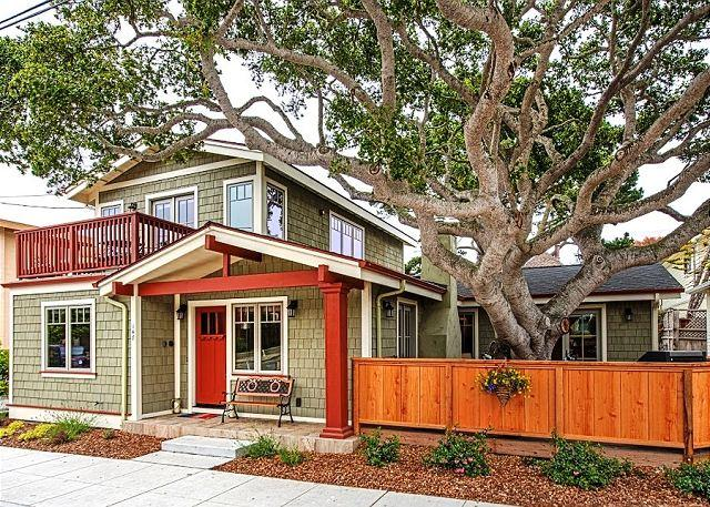 "Welcome to ""Seashore Retreat""! Brand new home in the heart of Pacific Grove. - 3646 Seashore Retreat ~ Beautiful Craftsman Design, Designer Decor, Luxurious - Pacific Grove - rentals"