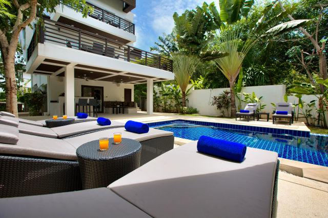 Day time - A Dazzling Villa close to choeng Mon beach - Choeng Mon - rentals