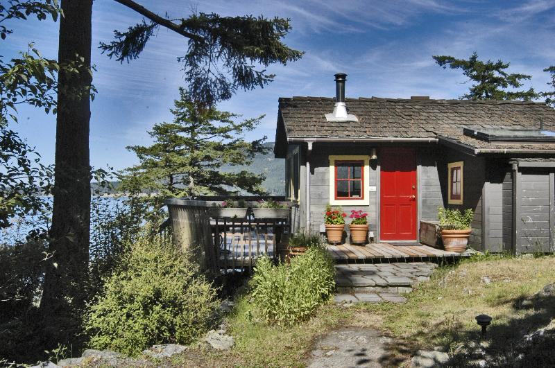 Isle Dream  -  Elfin path leads you to our absolute waterfront cozy pine cottage - All Dream Cottages-Much More than a Place to Sleep - Orcas - rentals
