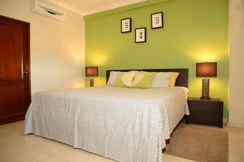 Master Bedroom - Apt. 1 - Gorgeous Ocean View Apartment - Santo Domingo - rentals