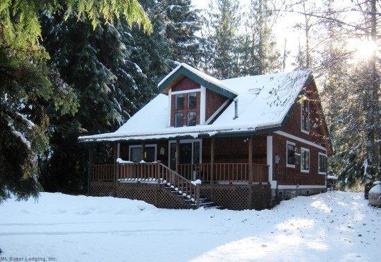 The front of cabin 13 - Mt Baker Rim Cabin #13 - A GREAT RIVERSIDE LOCATION - Glacier - rentals