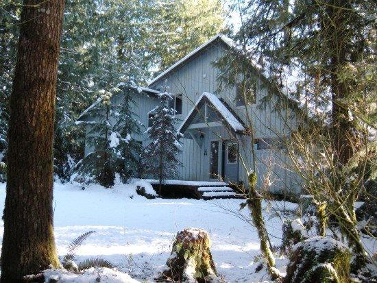 The front of Cabin 19 - Mt Baker Rim Cabin #19 - ONE OF YOUR FAVORITE PLACES - Glacier - rentals