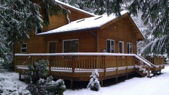 The front of Cabin 64 - Mt Baker Rim Cabin #64 - It`s time to get away to this, Newer 2 bedroom cabin that is pet friendly! - Glacier - rentals