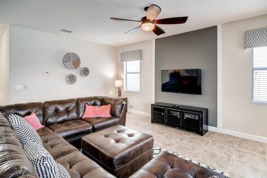 6 Bedroom 6 Bathroom Villa Located In Champions Gate. 1428TR - Image 1 - Orlando - rentals
