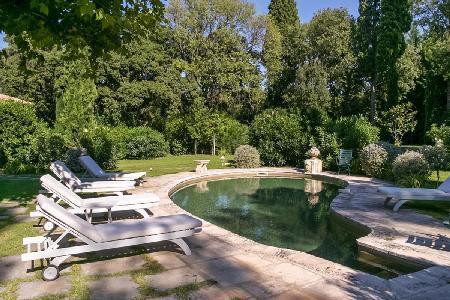 A Chic & Peaceful Countryside Retreat, Villa Boulbon features Private Pool & Terraces - Image 1 - Avignon - rentals