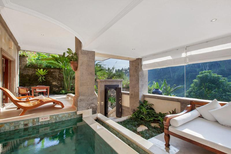 villa view - Viceroy Garden Exclusive Ultra Luxury 1BR Villa, U - Ubud - rentals