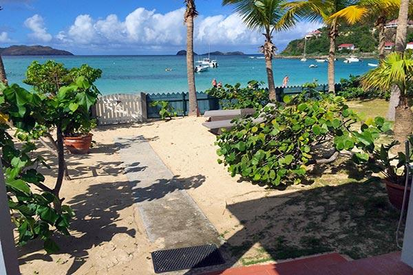Spacious & comfortable beachfront cottage, walk to St. Jean shops HEN CHG - Image 1 - Saint Barthelemy - rentals