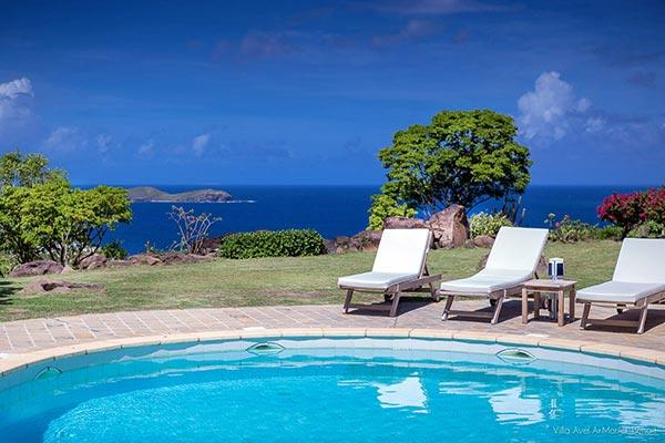 Charming villa with great views over the ocean and Marigot Bay WV AVE - Image 1 - Mont Jean - rentals