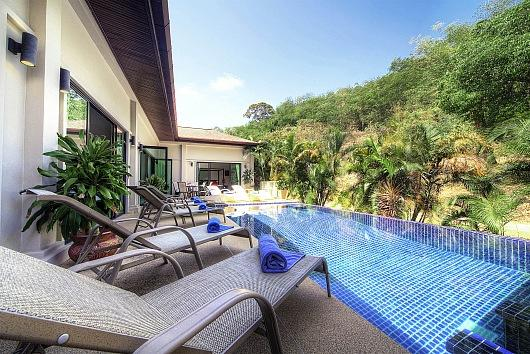 Stunning mountain view villa with pool - Image 1 - Kata - rentals