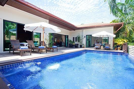 Villa Ploi Jantra - 5 Bed - Huge Holiday Home with Staff - Image 1 - Kata - rentals