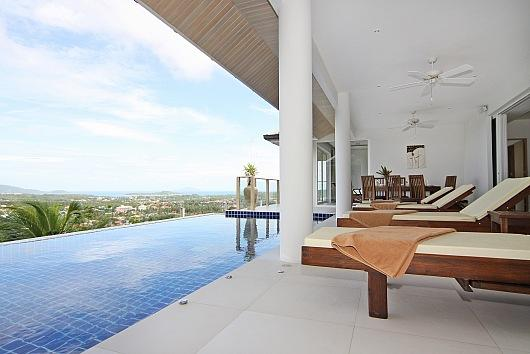 Expansive villa with distant sea views - Image 1 - Kata - rentals