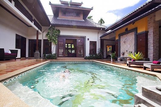 Asiatic 4 bed villa near Jomtien beach - Image 1 - Jomtien Beach - rentals