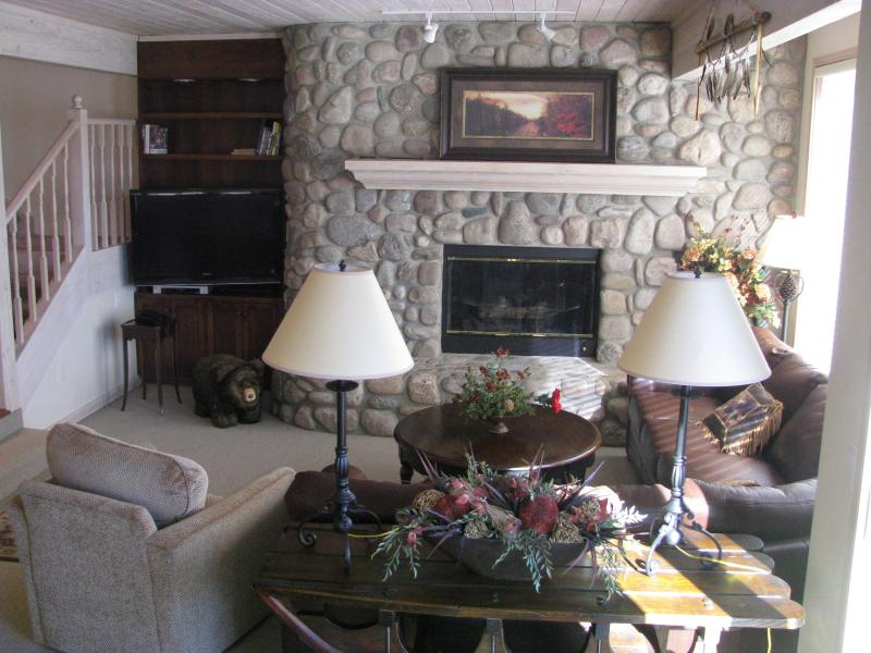 Relax by the fireplace - Potato Patch Townhouse - Private Hot Tub - Vail - rentals