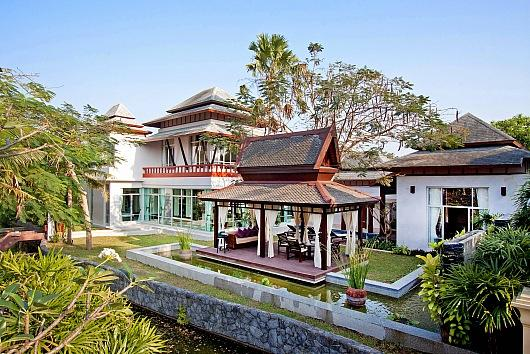 Modern Asian 5 bed villa with pool - Image 1 - Jomtien Beach - rentals