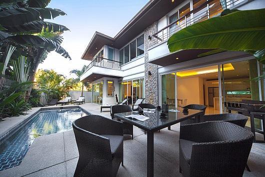 Modern chic pool villa at Kamala Beach - Image 1 - Kathu - rentals